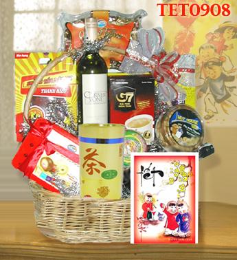 Tet Gift Basket